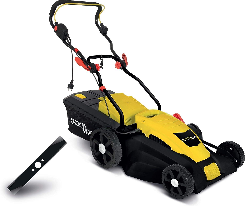 Gardeo - Cortacésped eléctrico 1800 W – Elem Garden Technic