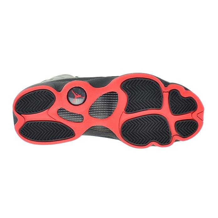 outlet store 9df4c 0b769 Amazon.com  Jordan Air 13 Retro Premium 3M BG Big Kids Shoes Reflect Silver  Infrared-Black 696299-023  Shoes