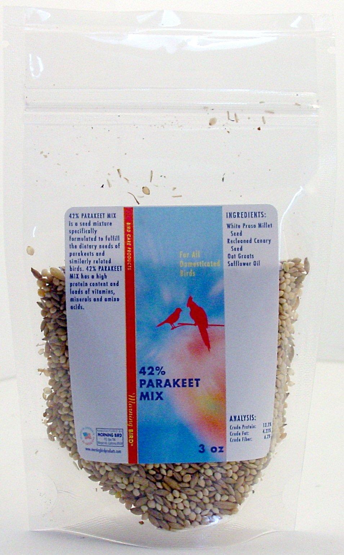 Morning Bird 42% Parakeet Mix (3 oz)