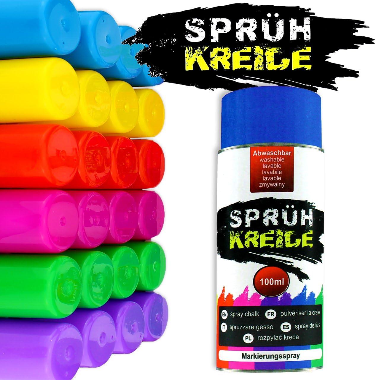 Spray vaporisateur de Craie - marquage Spray de couleur