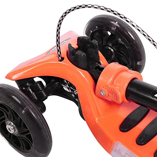 BUSYALL Mini Scooter Patinetes para Niños Niñas 3-14 Años con 3 Ruedas de Led Luces Música Plegado Rápido Freno de Mano, Monopatín Infantil con ...