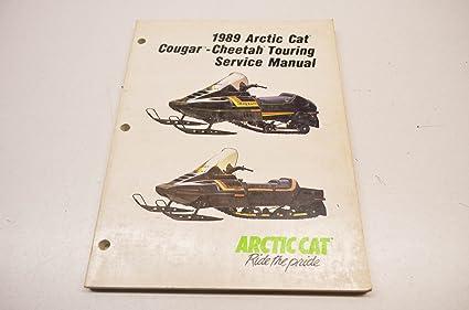 amazon com arctic cat 2254 498 1989 cougar cheetah touring service rh amazon com 2002 Arctic Cat ATV Diagram Arctic Cat Schematic Diagrams