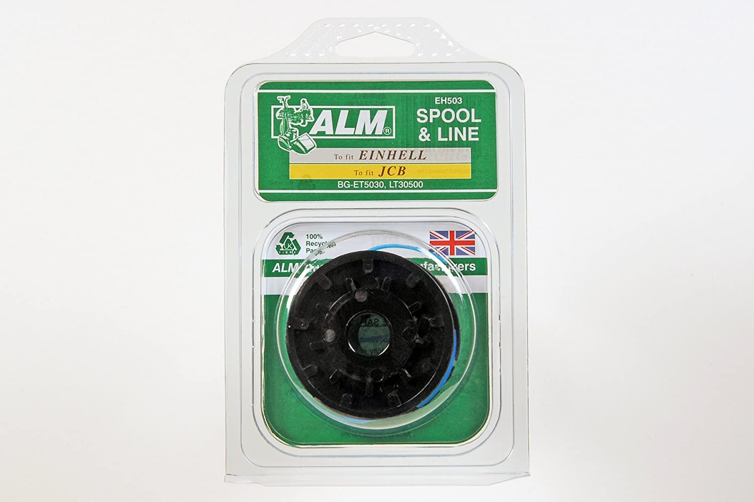 5 x ALM Spool & Line EH503 Fits Qualcast, MacAllister, Performance Power, JCB, Florabest, Einhell, Draper and Asda machines see description for specific models