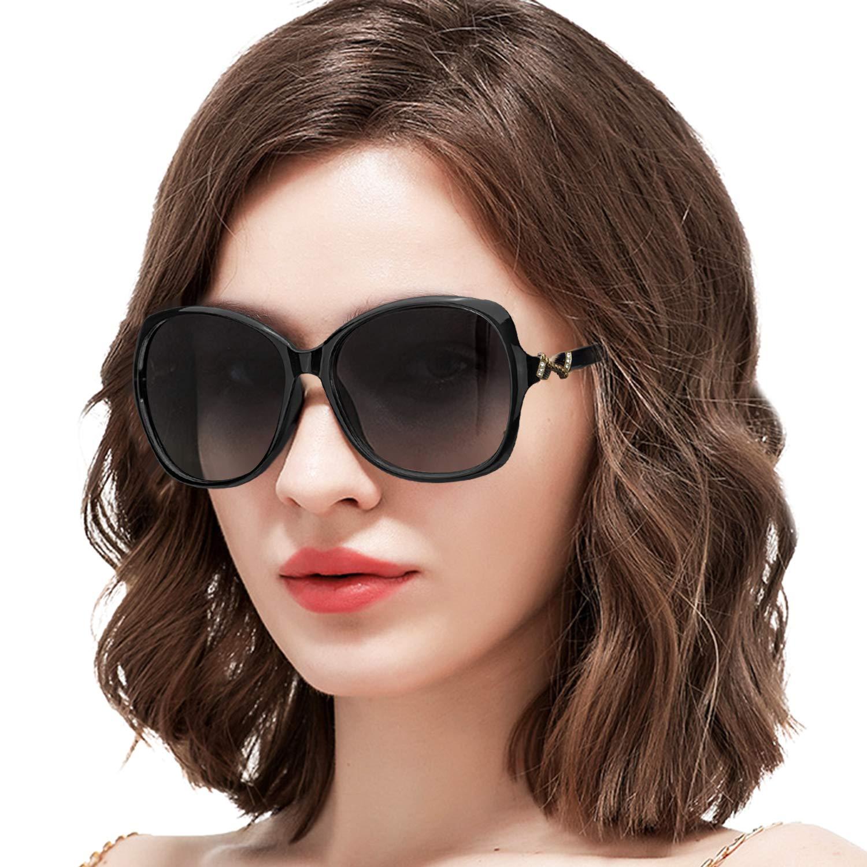 ARLTTH Gafas De Sol para Mujeres Polarizadas 100% Protección ...