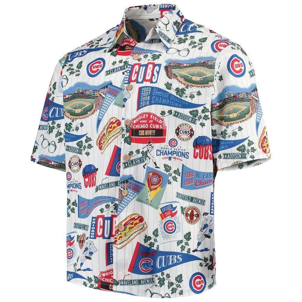 Amazon.com  Reyn Spooner Chicago Cubs Hawaiian Cotton Shirt Limited  Edition  Sports   Outdoors b0a685091