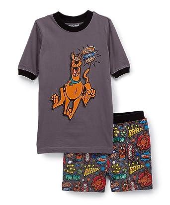 42bda41da4 Amazon.com  Hanna-Barbera Scooby Dooby Doo! Boy s Comic Pajama ...