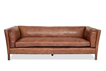 modern brown leather couch – archivemag