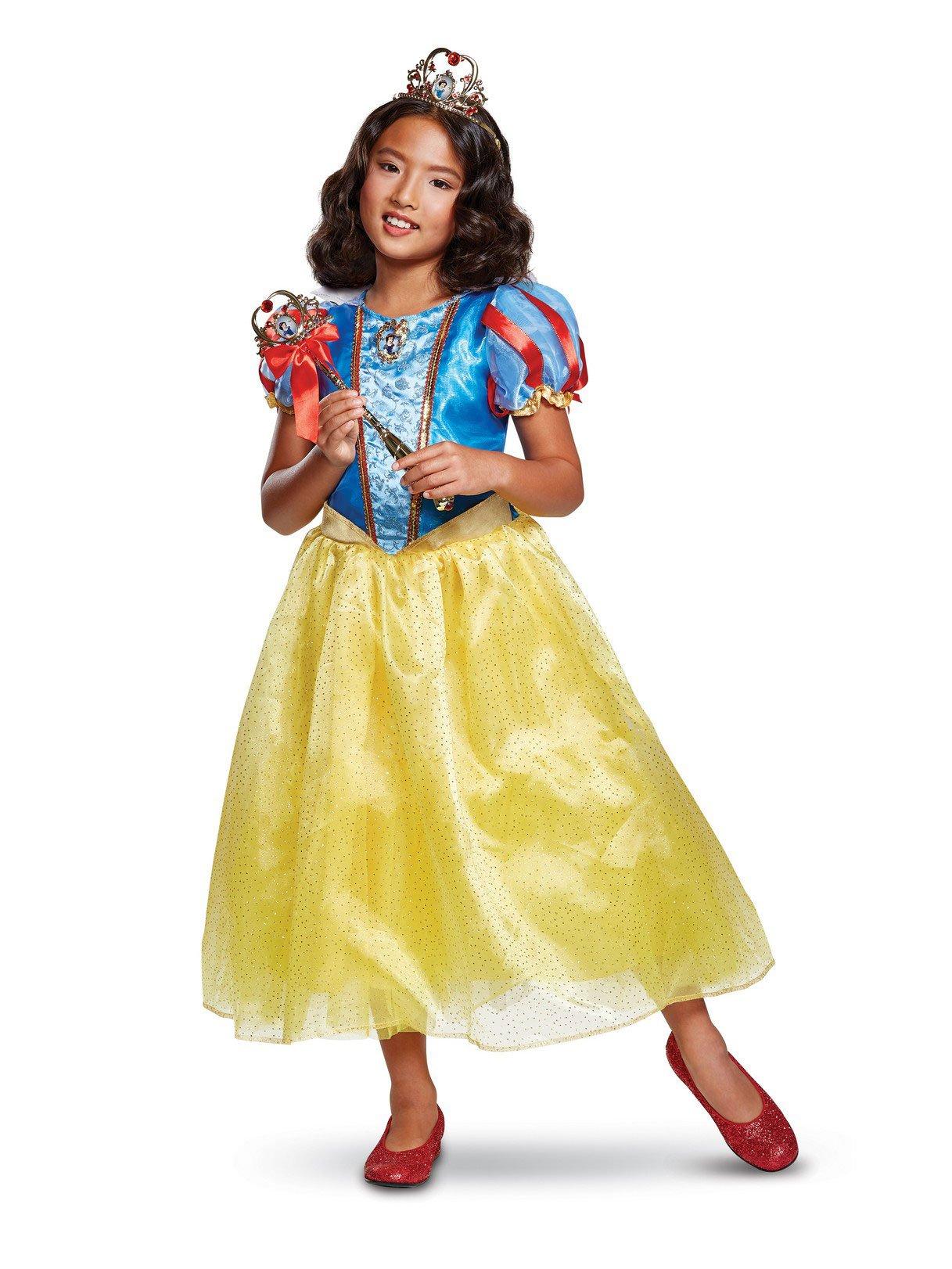Disguise Snow White Deluxe Child Costume, Multi Color, Size/(4-6x)