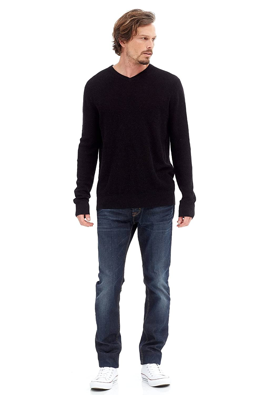 NAKEDCASHMERE SWEATER メンズ B076J29WF7 XL|ブラック ブラック XL