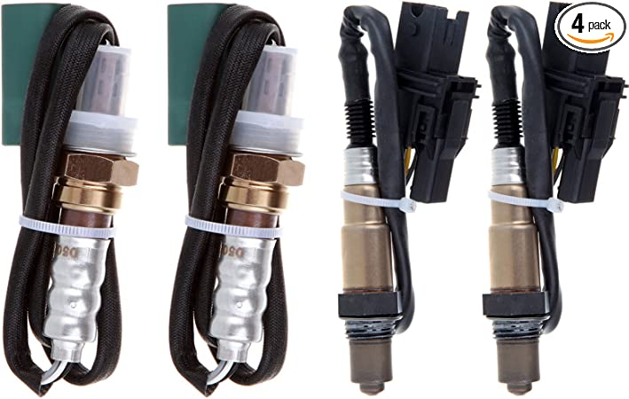 Replacement for Nissan Maxima V6 3.5L 2007-2008,2004 Nissan Quest V6 3.5L 15525 234-4301 Kwiksen 2pcs Downstream Left and Right Oxygen Sensor 2 Replacement for Nissan Murano V6 3.5L 2003-2007
