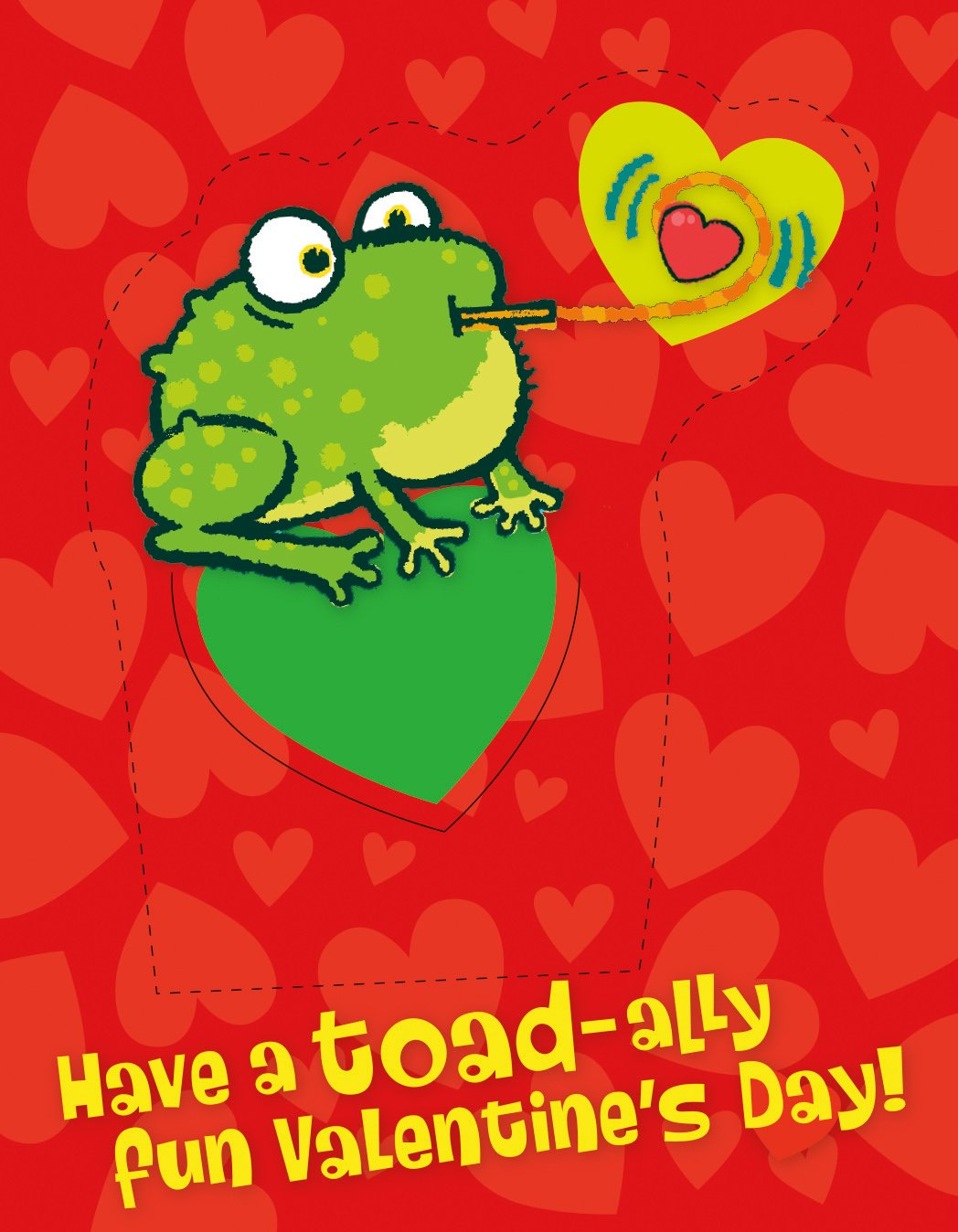 Amazon.com: Peaceable Kingdom 28 Card Pop-Out Frog Bookmark ...
