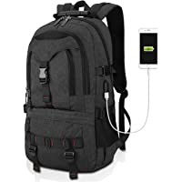 Tocode Water Resistant Laptop Backpack w/ USB Charging & Fits up to 17