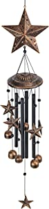 VP Home Rustic Stars Outdoor Garden Decor Wind Chime