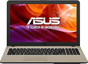 "ASUS R540NA-GQ279 - Portátil de 15.6"" HD (Celeron N3350, 4 GB RAM, 256 GB SSD, Sin Sistema Operativo) Negro - Teclado QWERTY español"