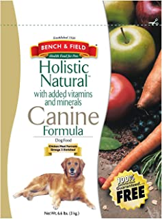 product image for Bench and Field Pet Foods Dog Food, Holistic, 6.60-pounds, Pack of 1