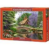 Puzzle 1000 pièces - Cottage sur la rivière - 102365 de Castorland