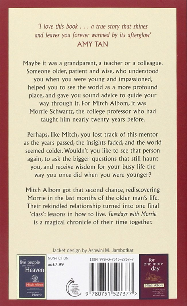 tuesdays with morrie story online