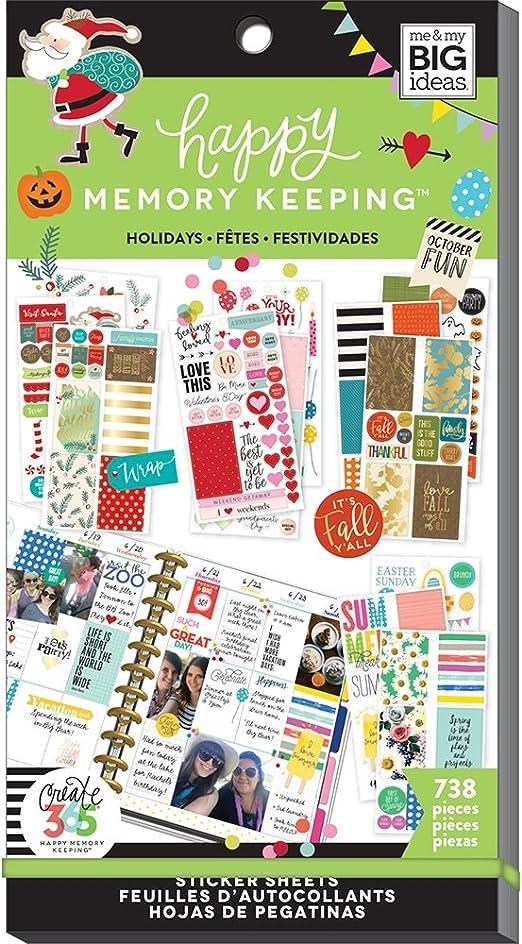 Me and My Big Ideas Super Pack de Pegatinas Seasons & Holidays ...