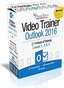 Outlook 2016 Training Videos – 14 Hours of Outlook 2016 training for Microsoft Office: Specialist, Expert and Master Instructor, and Microsoft Certified Trainer (MCT), Kirt Kershaw