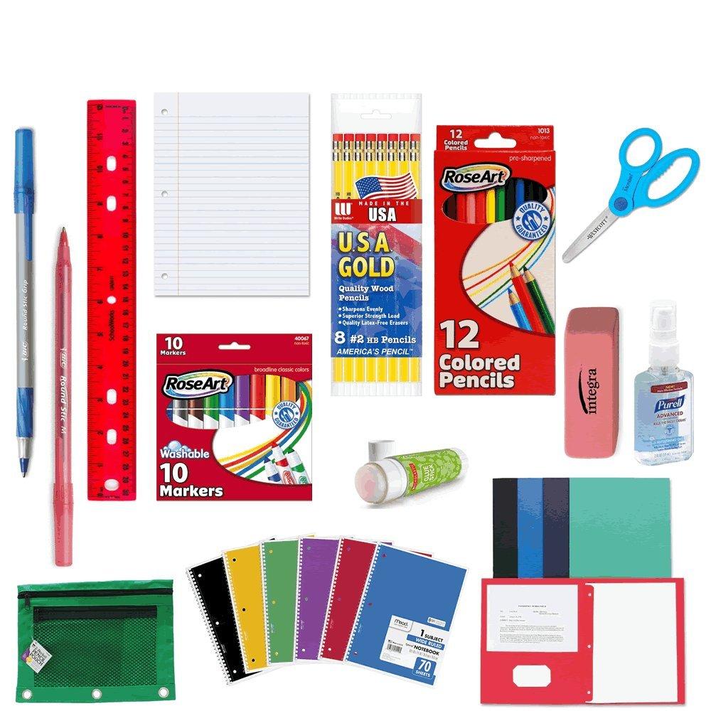 School Supply Bundle for 5th Grade