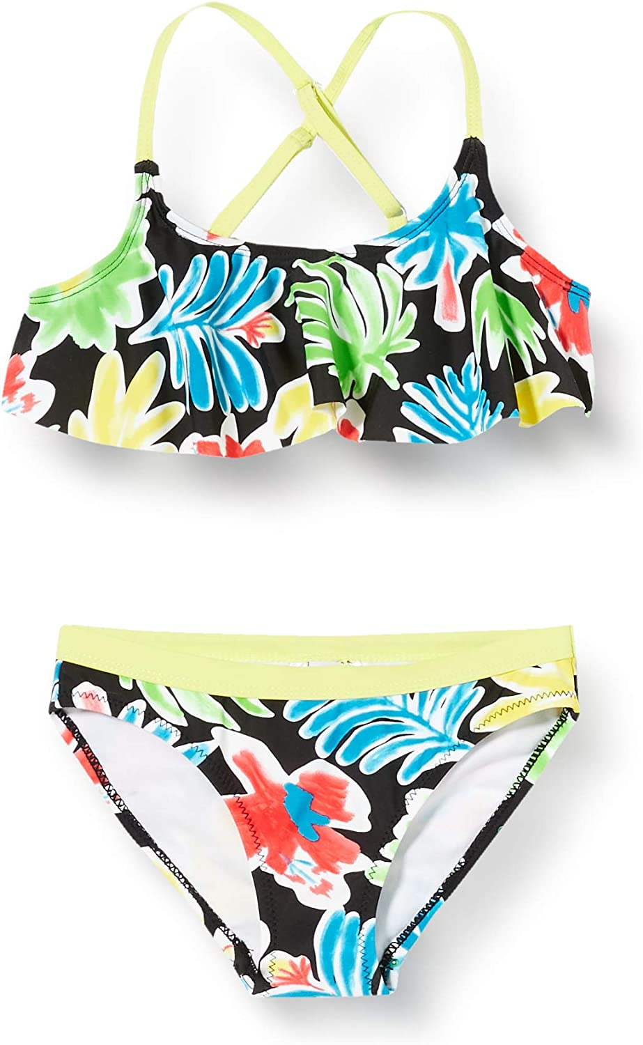 TUC TUC Bikini ESTAMPATO Bambina Giallo Sunset Beach