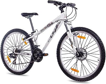 Bicicleta blanca de 26