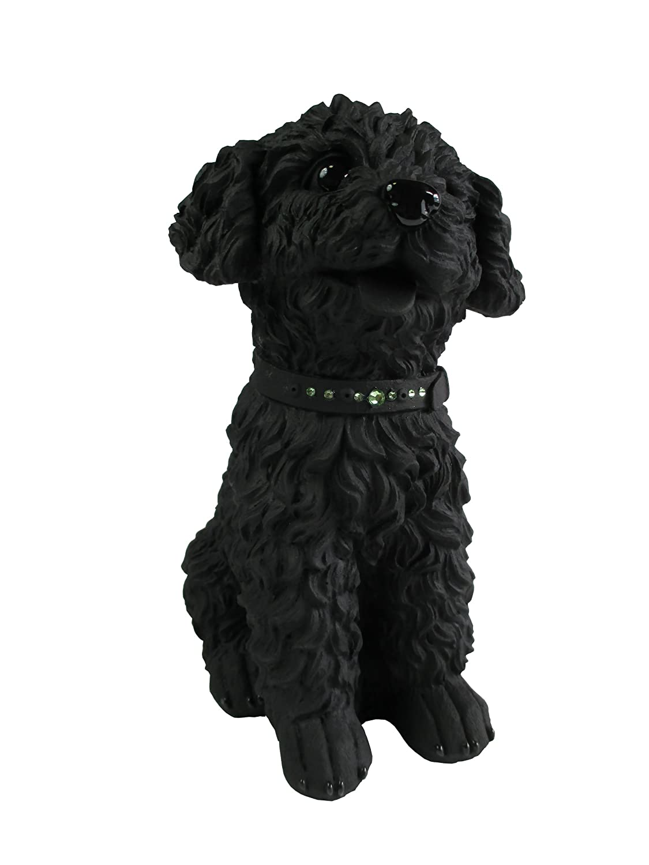 エコステーション 備長炭で出来た犬の置物 とるまワンコ トイプードル15J B00SDV9TTG