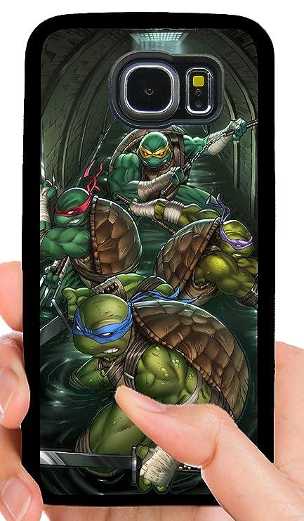 Amazon.com: TMNT - Carcasa para móvil, diseño de tortugas ...