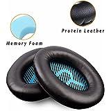 Earpads Ear Pad Foam Ear Pad Memory Foam Ear Cushion for Bose QuietComfort15 QC2 QC15 QC25 QC35 AE2, AE2i, AE2 Wireless, AE2-W Headphones (Style A)