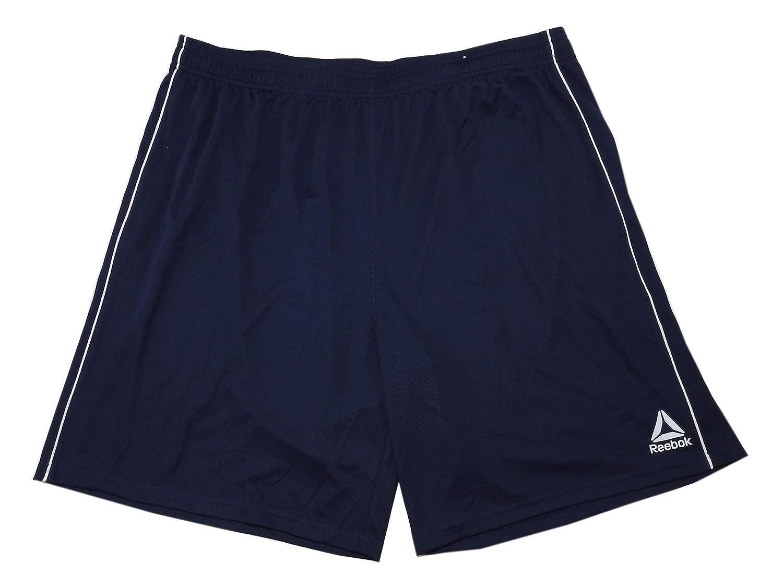 Reebok Mens Size 3X-Large Speedwick Active Basketball Shorts Dark Blue//White