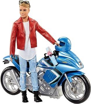 Barbie Ken con Moto Passport: Amazon.it: Giochi e giocattoli
