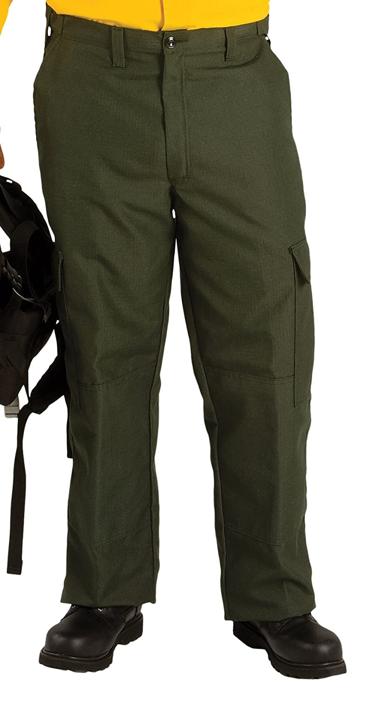 Inseam 30 Waist Size TOPPS SAFETY PA15-6075-48-30 Advance Widland Pants 48 7.0 oz Spruce Green 48 Inseam 30 Waist Size