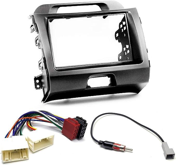UGAR 11-104 Kit Fascia + Arnés ISO + Adaptador de Antena ...