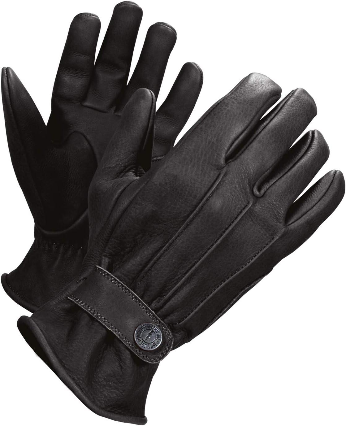 Atmungsaktiv Innenseite mit Kevlar John Doe Motorrad Handschuh Grinder Handschuh aus Rindsleder