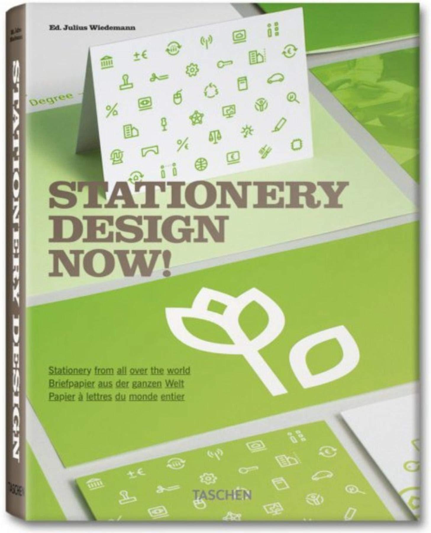 Stationery Design Now!: Julius Wiedemann: 9783836518970 ...