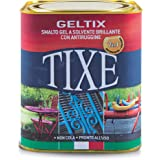 TIXE 105622 Geltix Smalto Gel Antiruggine, Vernice, Ferro Antracite, 9.5 x 9.5 x 10 cm