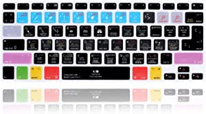 MMDW Logic Pro X Silicone Keyboard Cover Skin for MacBook Pro 13