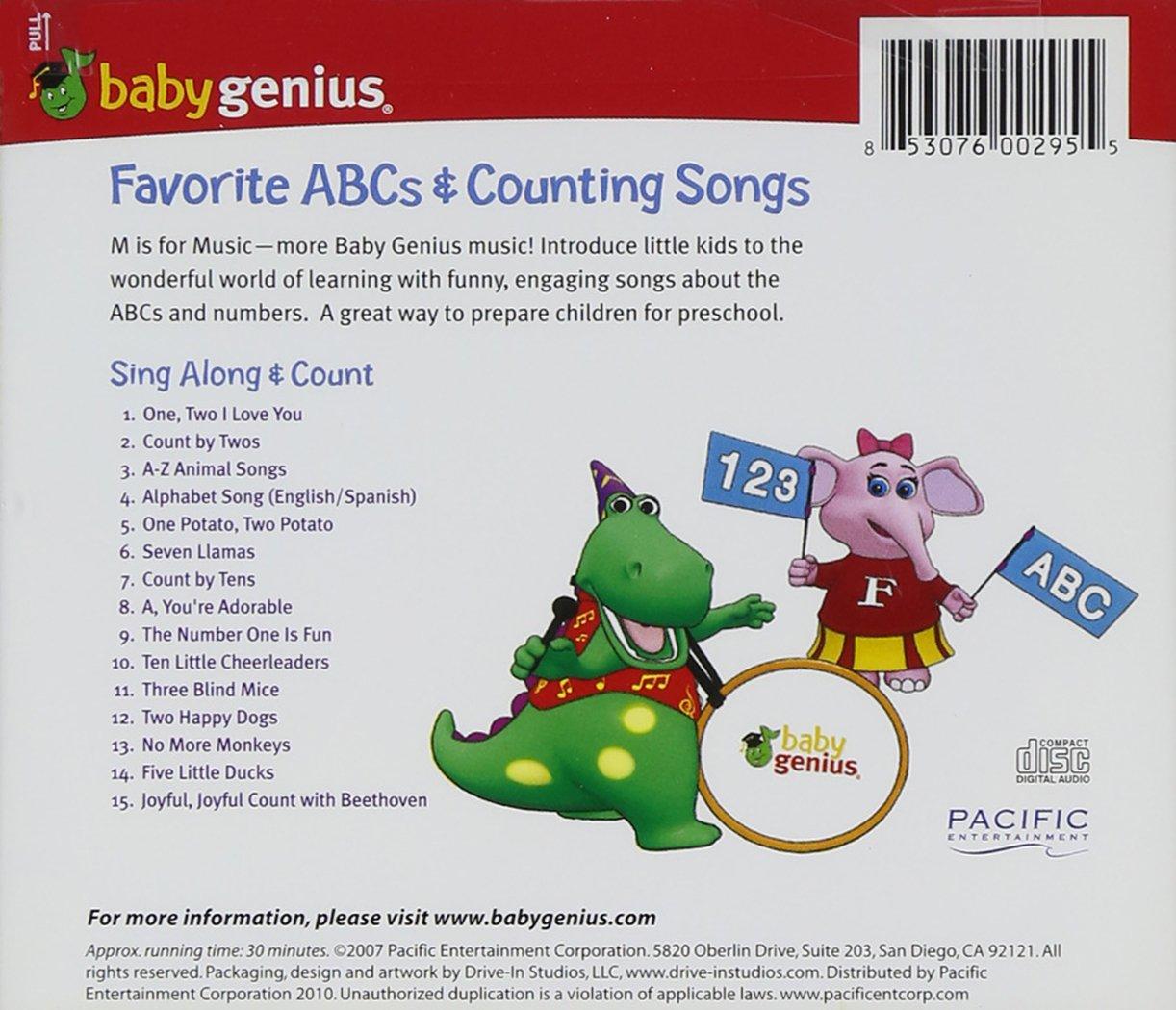 Baby Genius Favorite Counting Songs Amazoncom Music - 30 genius packaging designs