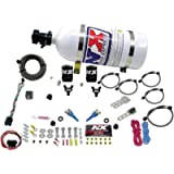 Nitrous Express 20716-10 35-150 HP Dual Nozzle with 10 lbs. Bottle for Nissan / Infinity