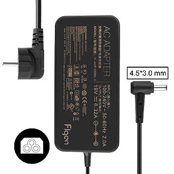 FLGAN 120W 6,32A cargadores fuentes de alimentación para sus Zenbook Pro ux550vd ux550ve ux56 1ud ux561un ux501vw g501vw ux501jw g501jw NX500JK n501jw ...