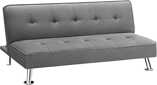 Homall Futon Sofa Bed Modern Collection Convertible Fabric Folding Recliner Lounge Couch