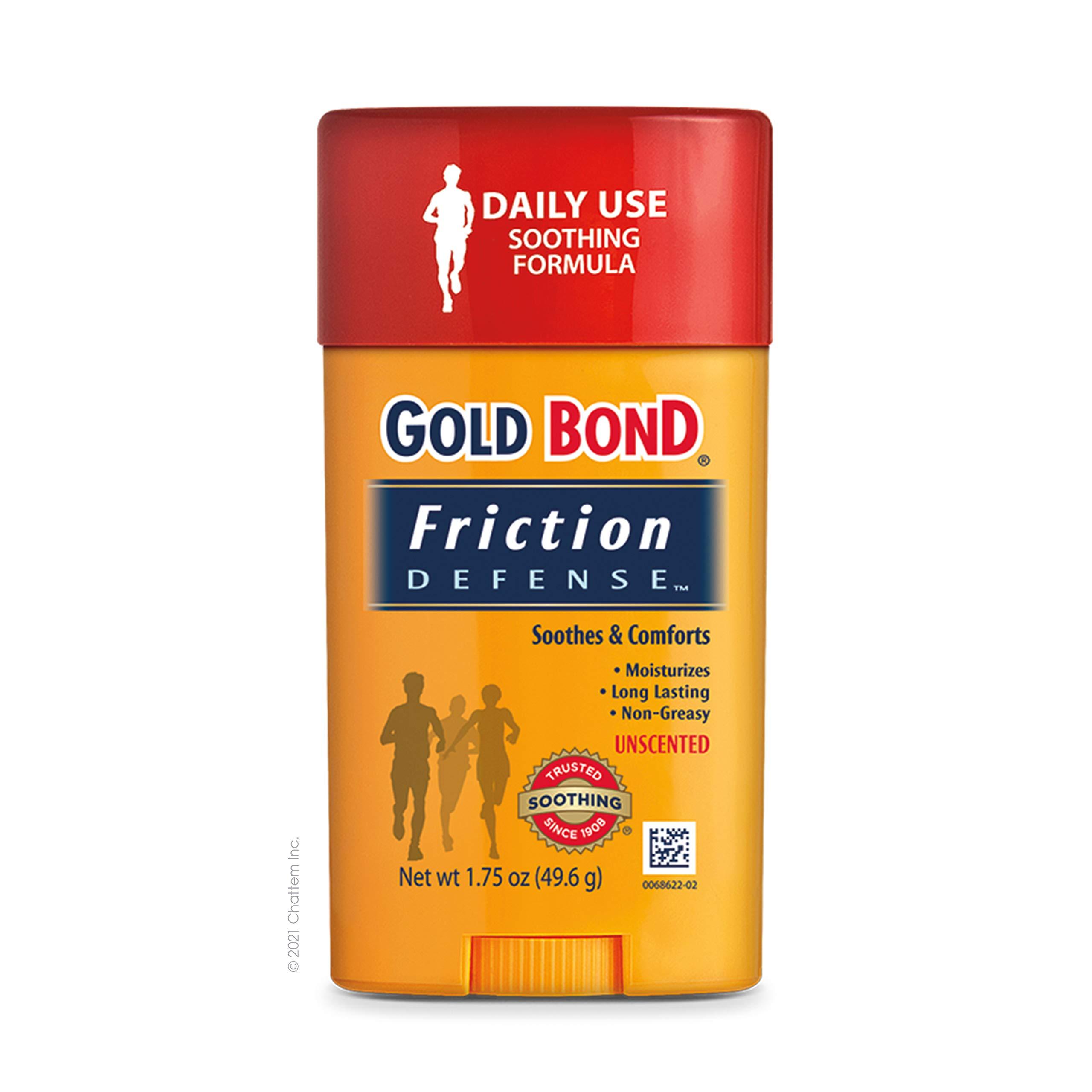 Gold Bond Friction Defense Stick, Unscented, 1.75 Ounces