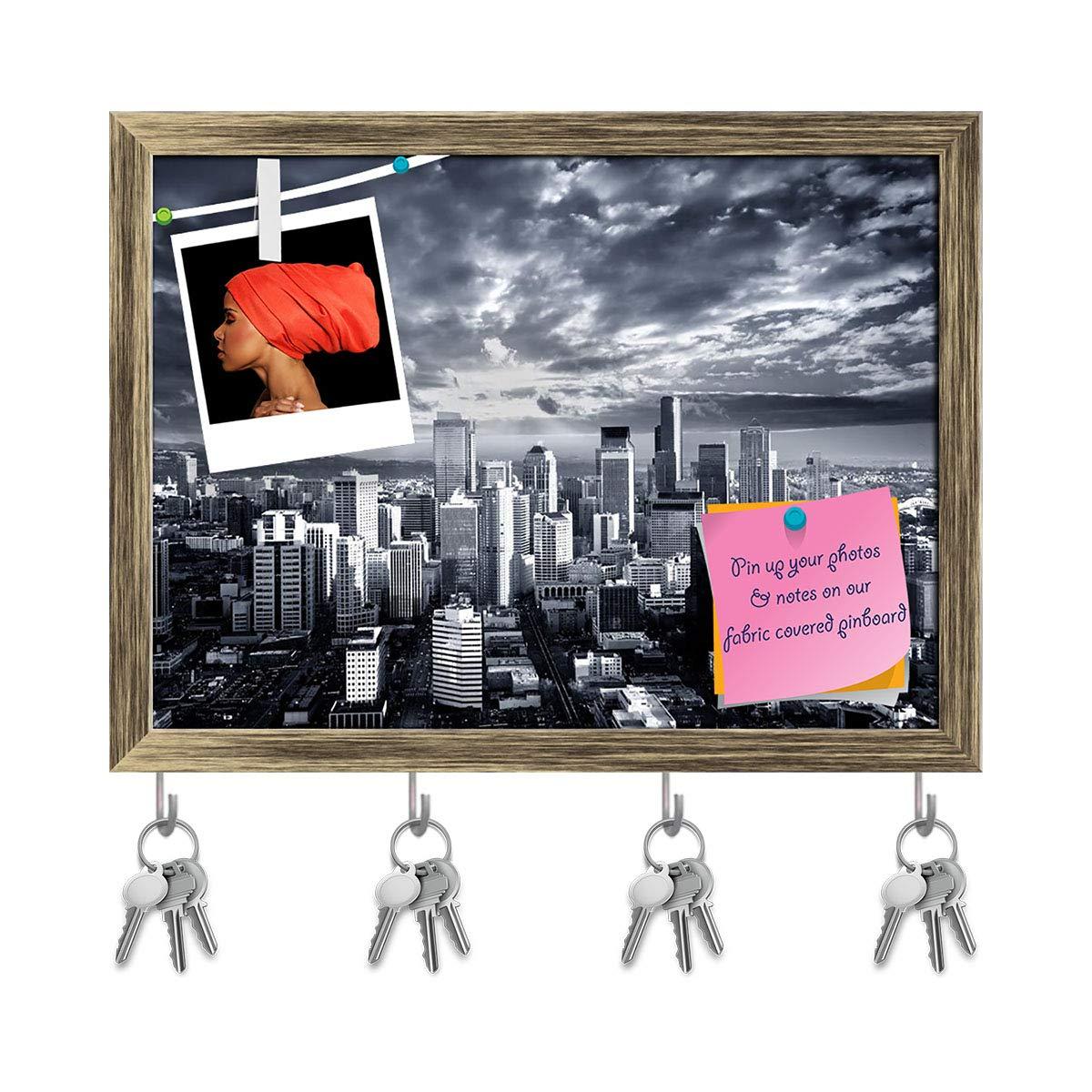 Amazon com: ArtzFolio Seattle Cityscape, Washington, USA Key Holder
