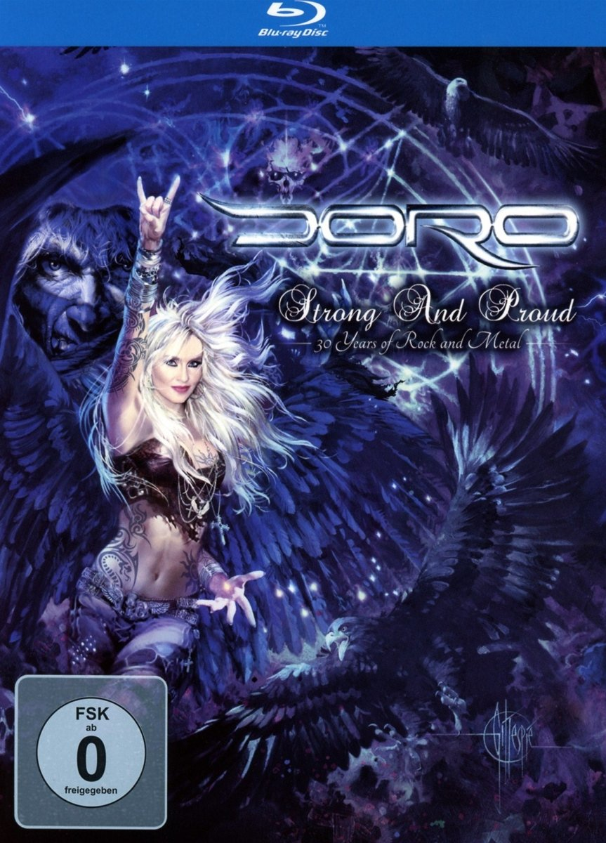 Doro – Strong and Proud – 30 Years of Rock and Metal (2013, 2014) BONUS CONCERT 720p+1080p MBluRay x264-LiQUiD