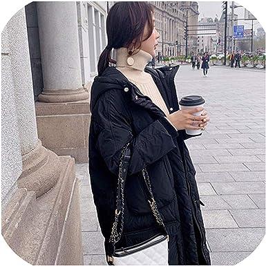 MoMo - Abrigo de plumón para mujer (algodón, tamaño grande ...