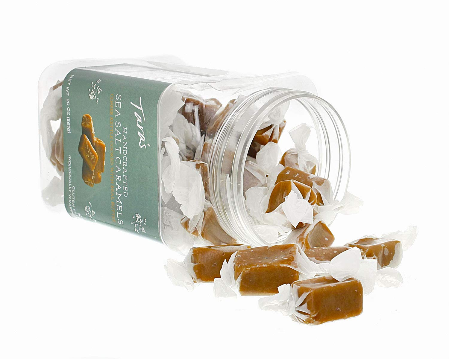 Tara's All Natural Handcrafted Gourmet Sea Salt Caramel: Small Batch, Kettle Cooked, Creamy & Individually Wrapped - 20 Ounce by Tara's (Image #3)