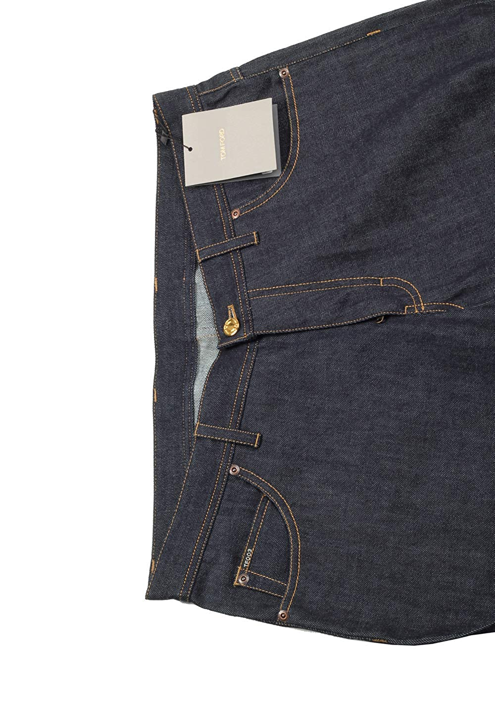 Amazon.com: CL – Tom Ford azul recto pantalones vaqueros ...