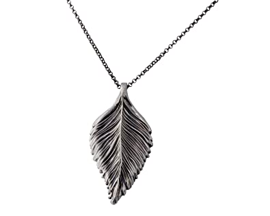 Amazon paz creations 925 sterling silver leaf necklace made paz creations 925 sterling silver leaf necklace made in israel mozeypictures