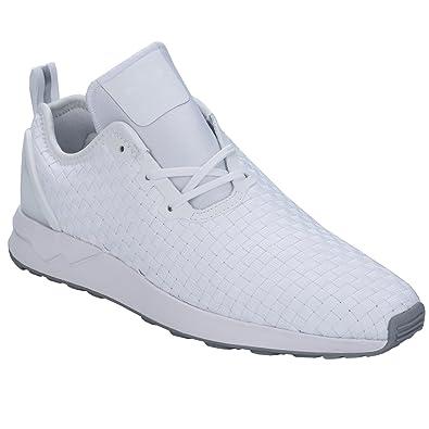 reputable site b9aeb 54e24 adidas Zx Flux ADV Asym Herren Sneaker Weiß