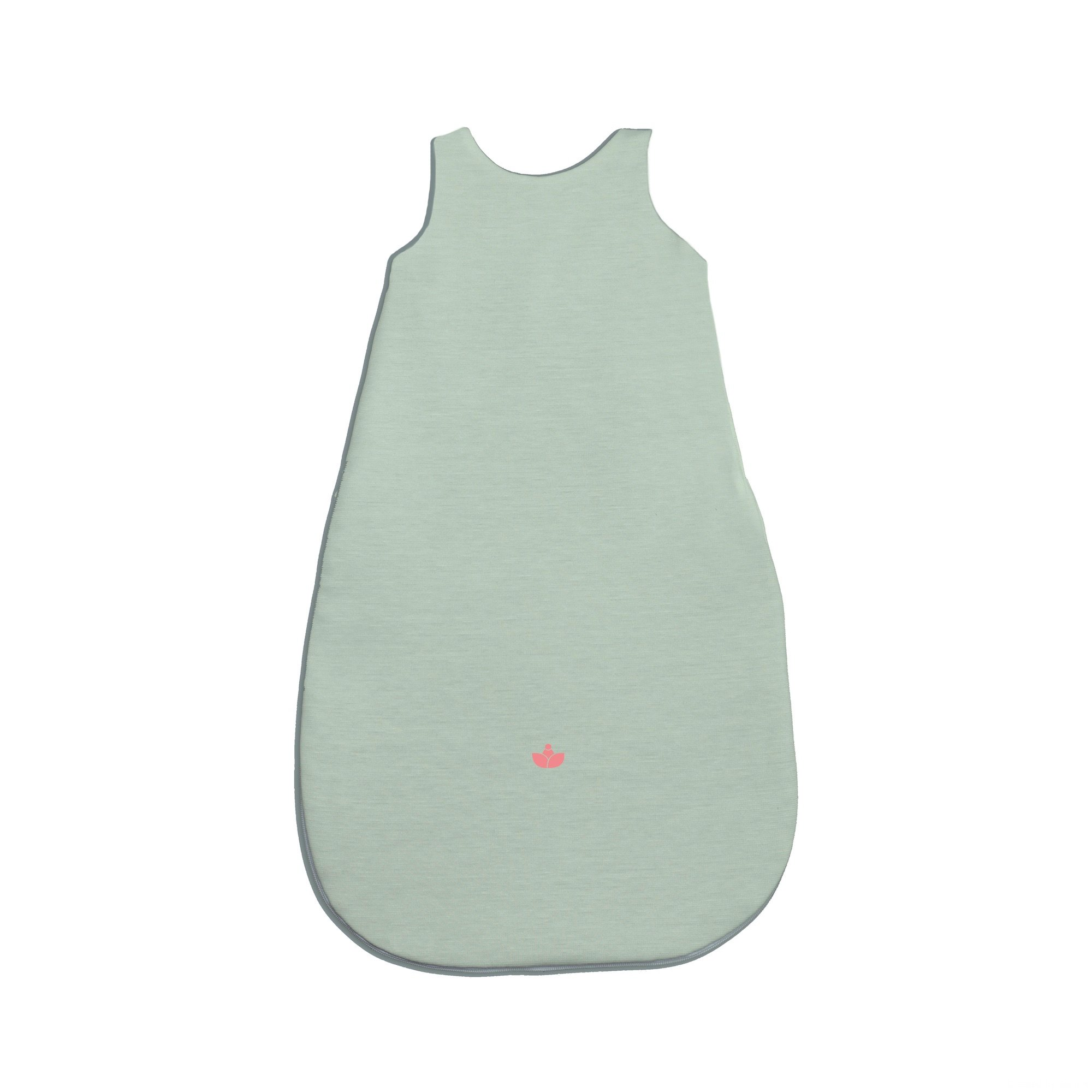 Little Lotus Sleeping Bag, Medium (6-12 Months), Lotus Mint